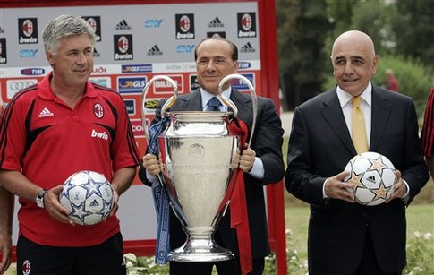 Берлускони Сильвио, топ-10 покупок, Милан