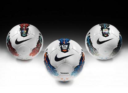мяч Nike T90 Seitiro, чемпионат италии, испании, россии