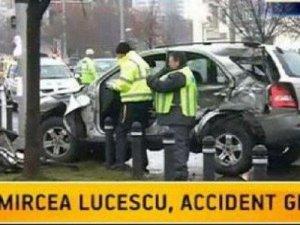 В аварию попал главный тренер донецкого «Шахтера» Мирча Луческу