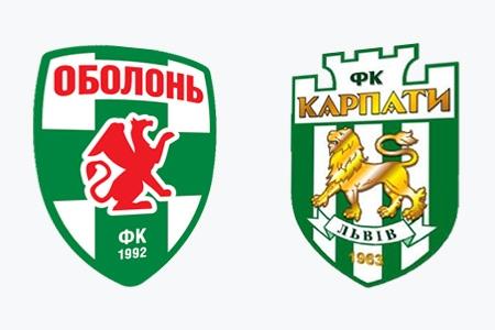 Оболонь забивает второй гол в ворота Карпат!