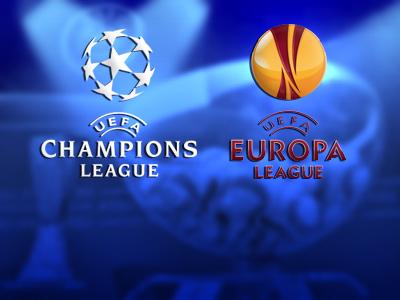Лига Чемпионов и Лига Европы