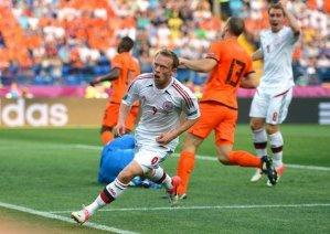 Голландия - Дания 0:1. Видео голов