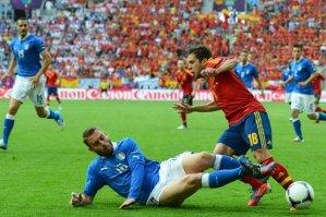 Испания - Италия 1:1. Видео голов