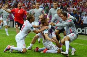 Россия - Польша. Видео голов