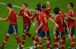 Испания легко обыгрывает Ирландию
