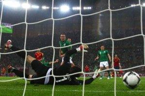 Испания - Ирландия. Видео голов