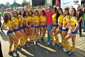 Самые лучшие болельщицы Евро 2012. Видео