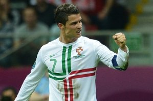 Роналду признан лучшим игроком матча Чехия — Португалия