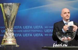 Жеребьевка группового этапа Лиги Европы 2012/2013 состоится 31 августа