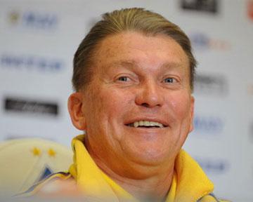 Олег Блохин - главный тренер Динамо. Видео пресс-конференции