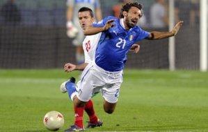 Италия теряет очки в Болгарии