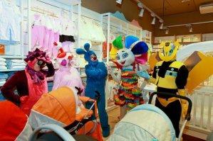 Клоуны на детском празднике