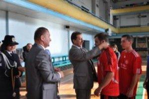 Состоялись соревнования по мини-футболу в Луганске