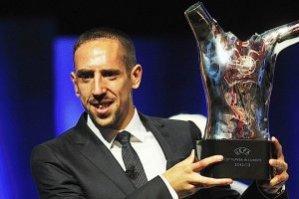 В УЕФА признали лучшим Рибери