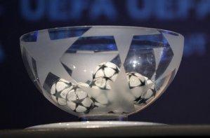 Результаты жеребьевки 1/8 Лиги Чемпионов